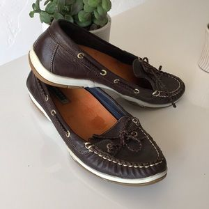 Sperry size 8.5 Brown Boat Shoes
